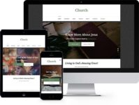 Church: Free Responsive HTML5 Bootstrap Template 2017