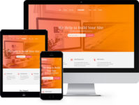 Orange: Free HTML5 Bootstrap Template Multi Purpose